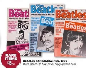 1980 Beatles Fan Magazines