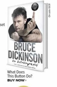 Bruce Dickinson Autobiography