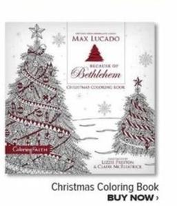 Christmas Coloring Book By Max Lucado