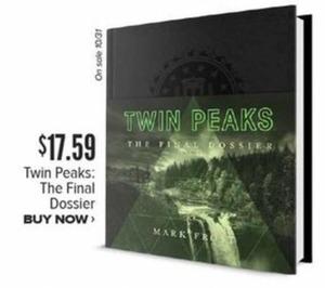 Twin Peaks: The Final Dossier by Mark Frost