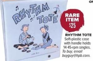 Rhythm Tote