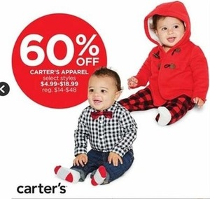 Select Carter's Apparel