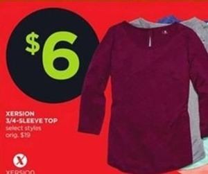 Xersion 3/4-Sleeve Top