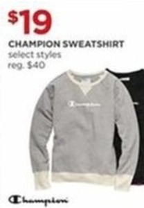 Select Women's Champion Sweatshirts