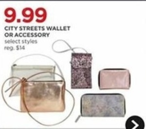 City Streets Wallet or Accessory