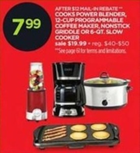 Cooks 6Qt Slow Cooker After Rebate