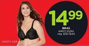 Bras Selected Styles