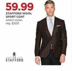 Stafford Wool Sport Coat