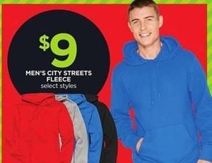 Men's City Streets Fleece Hoodie