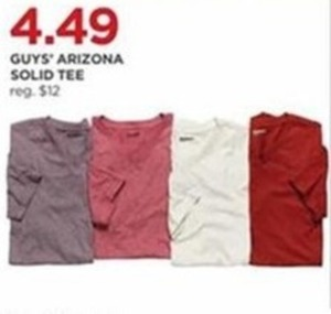 Men's Arizona Solid Tee