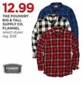 The Foundry Big & Tall Supply Co. Flannel