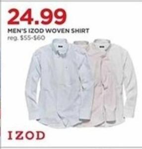 Men's IZOD Woven Shirt