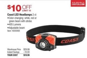 Coast LED Headlamps