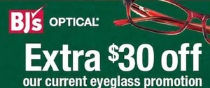 Current Eyeglass Promotions