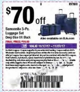 Samsonite 3-Pc. Luggage Set