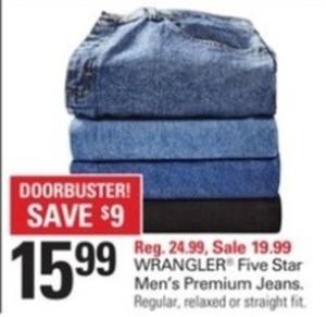 Wrangler Five Star Men's Premium Jeans