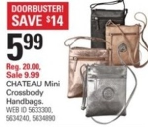 Chateau Mini Crossbody Handbags