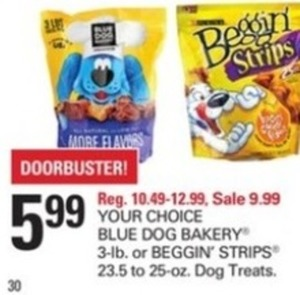 Blue Dog Bakery 3lb Dog Treats