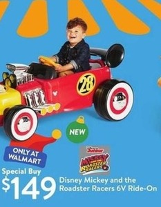 Disney Mickey and the Roadster Racers 6V Ride-On