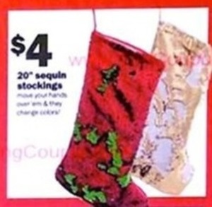 Sequin Stockings 20""