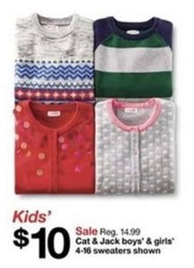 Cat & Jack Boys & Girls Sweaters