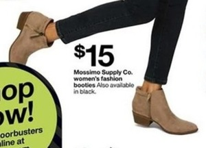 Mossimo Supply Co Women's Fashion Booties