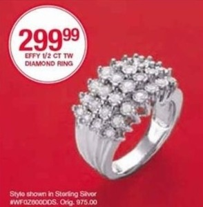 Effy 1/2ct TW Diamond Ring