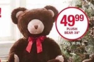 """38"""" Plush Bear"""