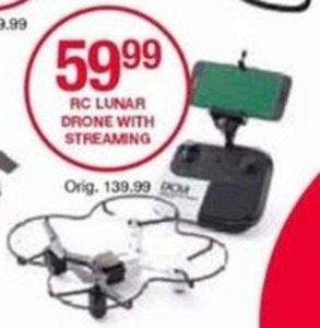 RC Lunar Drone w/ Streaming