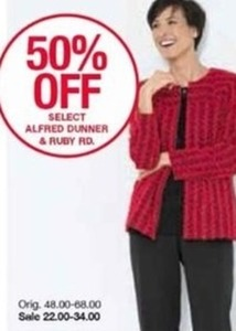 Select Alfred Dunner & Ruby Rd.