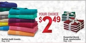 Essential Home 8-Pk Washclothes