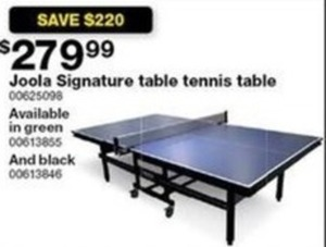 Joola Signature Table Tennis Table