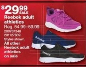 Reebok Adult Athletic Sneakers