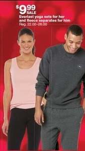 Everlast Yoga Sets & Fleece Separates