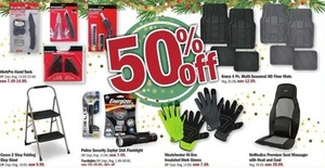 Select Tools, Gloves, Floor Mats and Flashlights