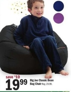 Big Joe Classic Bean Bag Chair