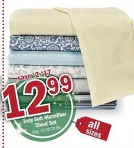 Truly Soft Microfiber Sheet Set (All Sizes)