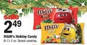 M&M's Holiday Candy