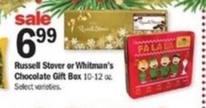 Russell Stover or Whitman's Chocolate Gift Box