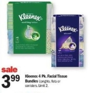 Kleenex 4 Pk.Facial Tissue Bundles