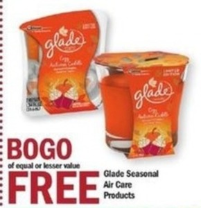 Glade Seasonal Air Care Products
