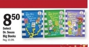 Select Dr. Seuess Big Books