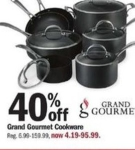 Grand Gourmet Cookware
