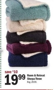 Room & Retreat Sherpa Throw