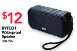 BYTECH Water-Resistant Bluetooth Speaker