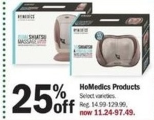 HoMedics Porducts