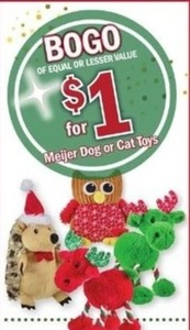 Meijer Dog or Cat Toys