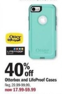 Otterbox and LifeProof Cases