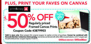 Regularly Priced Framed Canvas Prints