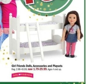 Girl Friends Dolls Accessories And Playsets